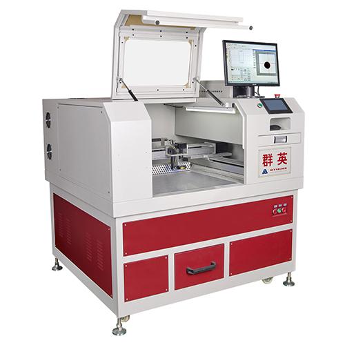 高精度电镀膜片激光切割机